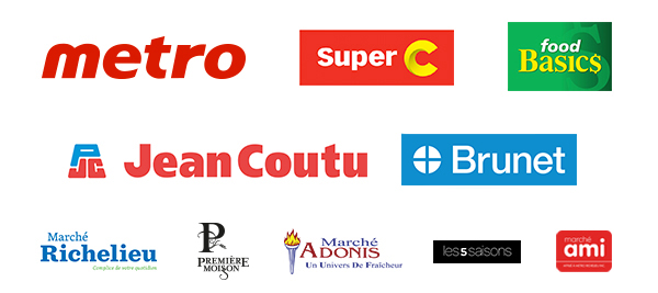 Logos du groupe
